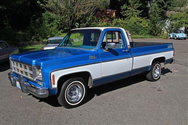 1978 gmc pickups | 1978 Chevrolet / GMC Pick Up Truck C10 Cheyenne |