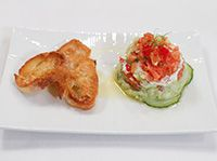 Tartare de saumon deux façons