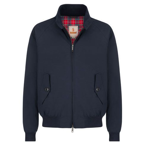 G9 MODERN CLASSIC  HARRINGTON JACKET - BARACUTA CLOTH