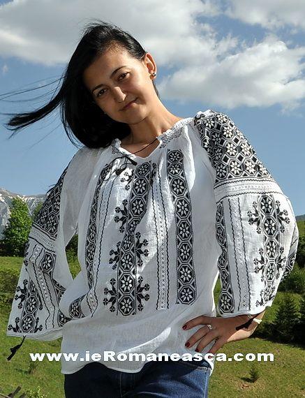ie Traditionala Romaneasca de Vanzare - buy Romanian Blouse Roumaine