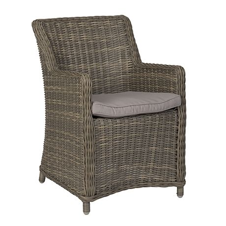 Ponte Outdoor Armchair  Grey/Taupe Cushion