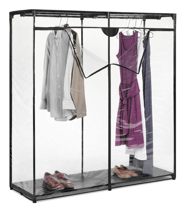 Portable Closet Wardrobe Clothes Garment Storage Rack Laundry Hanger Clothes  NEW | Organize | Pinterest | Laundry hanger, Wardrobes