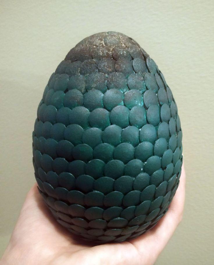 Daenerys Targaryen dragon egg green diy homemade