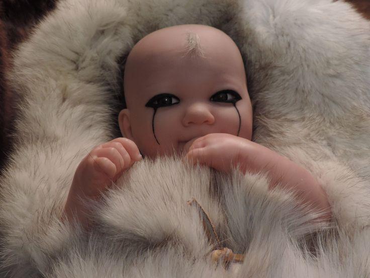 Floki,Baby Floki,Vikings,Upcycled Doll,Floki Baby,Vintage Doll,Upcycled Fur,Art & Collectibles,Art Dolls,The Vikings,Goth and Horror Dolls by ForFran on Etsy https://www.etsy.com/ca/listing/487426377/flokibaby-flokivikingsupcycled-dollfloki