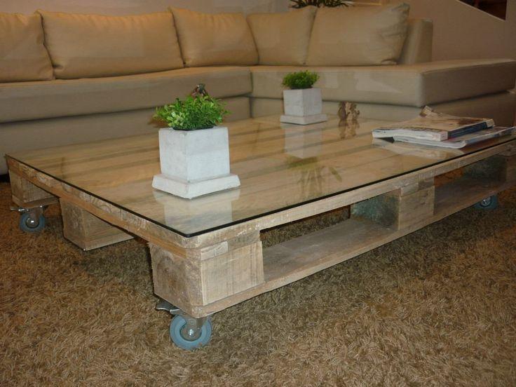 mesa ratona - mesa de living - pallets