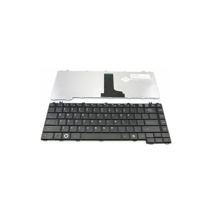 Keyboard Toshiba Satellite L600 L630 L640 C600 - Black Model  TSKB03BK Condition  New  Keyboard Toshiba Satellite termurah hanya di Gudang Gadget Murah. Keyboard replacement untuk Toshiba Satellite L600 , Compatible juga dengan TOSHIBA Satellite L630 , TOSHIBA Satellite L640 . Layout Keyboard US - Black