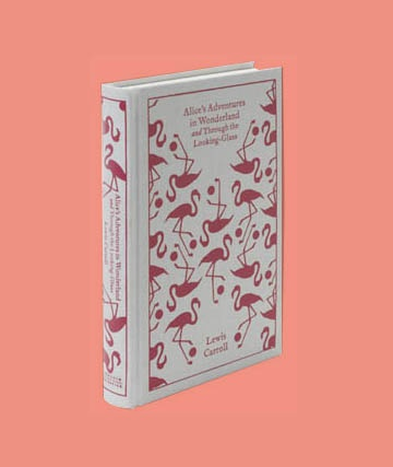 Look 2 : Book, Alice in Wonderland,  Penguin book