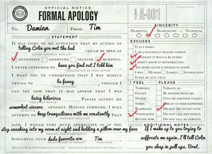 47 best Formal Apologies images on Pinterest Posts, Model and Books - formal apology letters