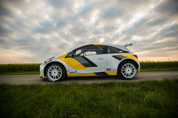 At WRC Rally Portugal Holzer Motorsport has presented the concept of the R5 Opel car developed to compete in the WRC2.   EVO Corse Racing Wheels #evocorse #evocorsewheels #lifeisawheel