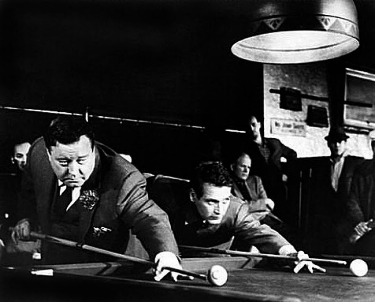 Paul Newman and Jackie Gleason