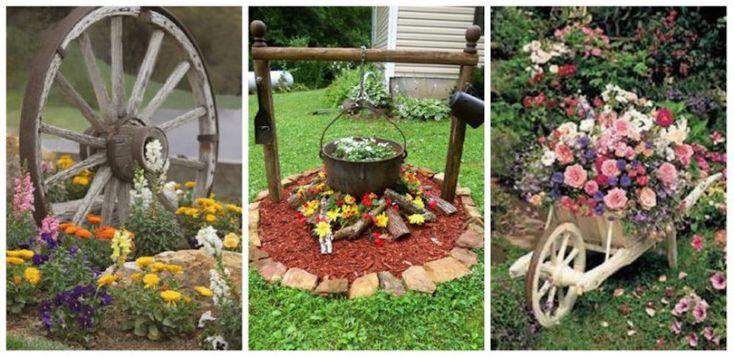 Egy kis kreativitással te is gyönyörűvé alakíthatod a kerted, mutatunk néhány ötletet!