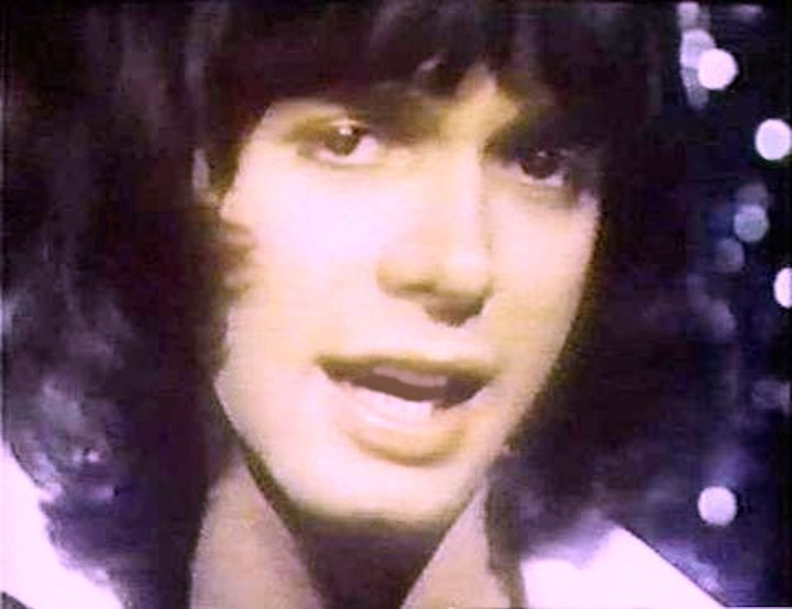 """Alan Merrill on Top Of The Pops 1974 performing the top 10 single """"Touch Too Much,"""" produced by Mickie Most on RAK records UK. #alan #merrill #arrows #uk #seventies"""