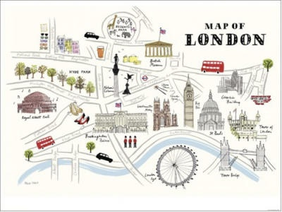 Map of London - Alice Tait