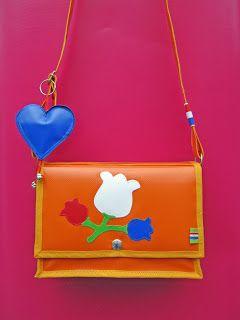 Oranje Tas-Orange Shoulder bag/ Ambela