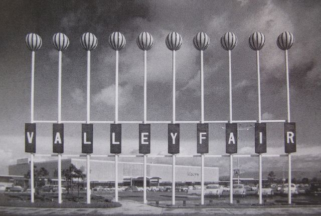 Oh the Memories!!! VALLEY FAIR Sign San Jose CA | Flickr - Photo Sharing!