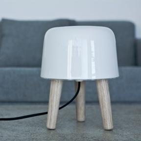 milk table lamp