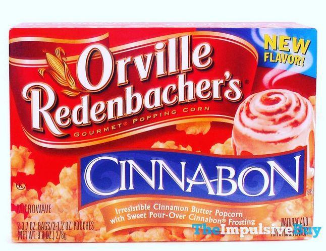 Orville Redenbachers Cinnabon Popcorn
