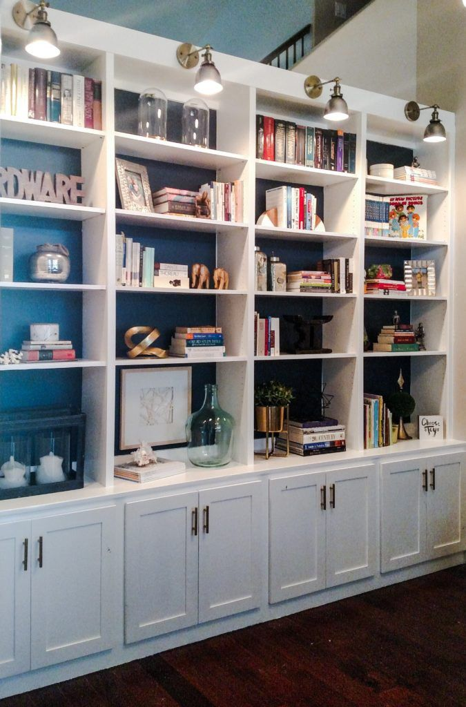 Library Built In Bookshelves 2021 In 2020 Bookshelves Built In Home Library Diy Home Library Design
