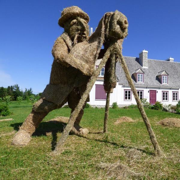 Foin Paille et Houblon au Musée de la mémoire vivante de Saint-Jean-Port-Joli