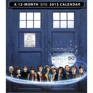 Doctor Who 50th Anniversary Collector's Edition 2013 Calendar: 9781423818496: Amazon.com: Books