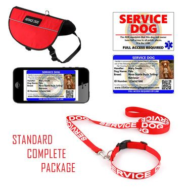 At Federal Service Dog & Emotional Support Animal Registration we offer free registration and Service Dog & ESA Vests, ID Cards, ESA Letter & more.