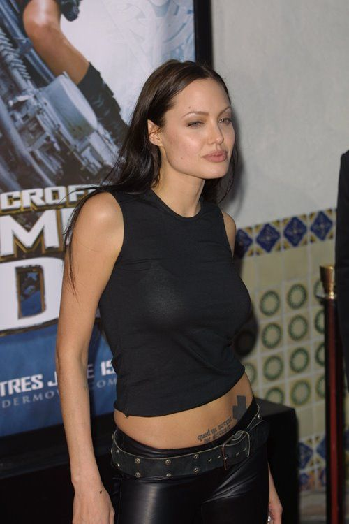 Step Back in Time: Angelina Jolie in 2001 2003
