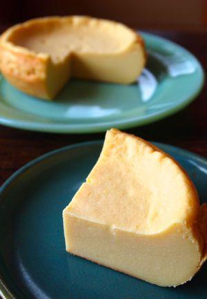 ヘルシーなチーズケーキなので、ダイエット中でも大丈夫。