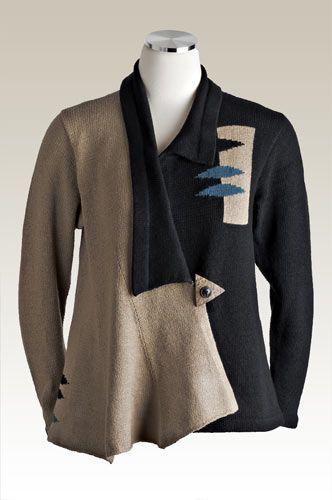 2011 collection, sandra miller design interesting collars.