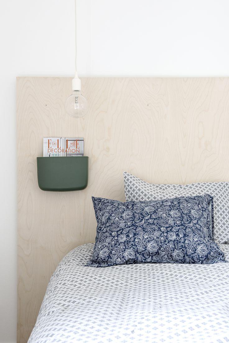 Ornament sheets meet paisley pillow cover. Photo credits: Pauliina Salonen
