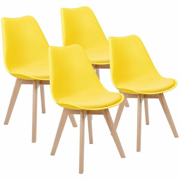 Bowerville Upholstered Dining Chair Midcentury Modern Dining