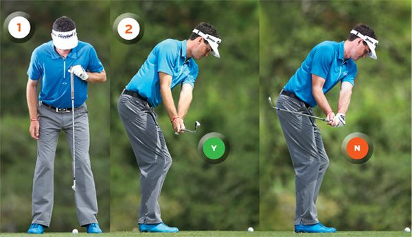 You need to know the TAKEAWAY position http://topgolfdrills.com/golf-backswing-drills/ … #golf #golfswing #swing #golfdrills