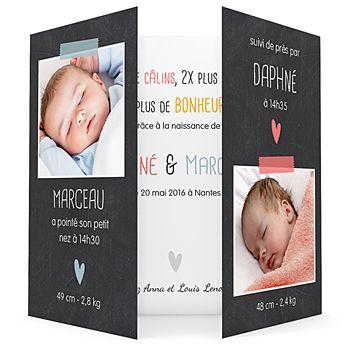 16 best Faire part naissance images on Pinterest