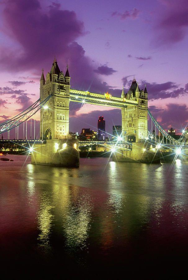 ✮ Tower Bridge At Night, London, England