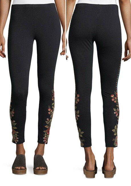 f3b70e9a6858 Johnny Was Libbie Embroidered Leggings, Petite. Find this Pin and more on Designer  Clothing ...