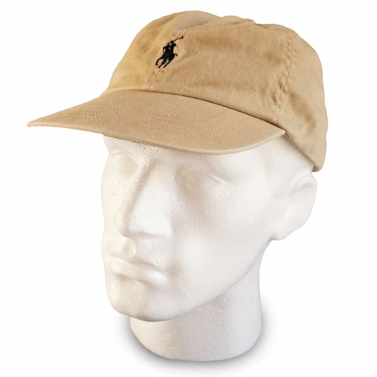 polo ralph lauren baseball cap hat khaki beige navy men. Black Bedroom Furniture Sets. Home Design Ideas