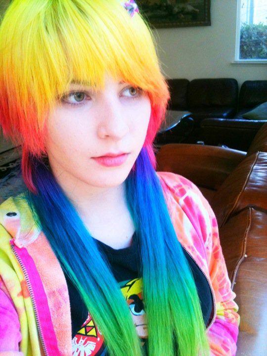 rainbow hair collection