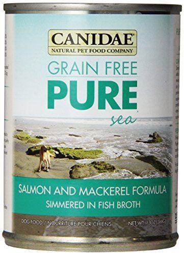 CANIDAE Grain Free PURE Adult Dog Wet Food Salmon & Macke... https://smile.amazon.com/dp/B003R0LL1C/ref=cm_sw_r_pi_dp_x_vTBAybDAD6M3B