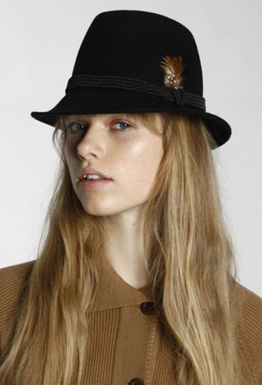 Women's hats - Stewardess pillbox navy hat