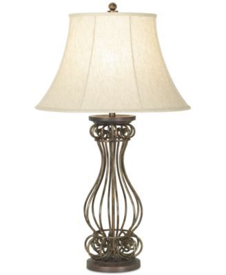 Kathy ireland home by pacific coast georgetown table lamp brown