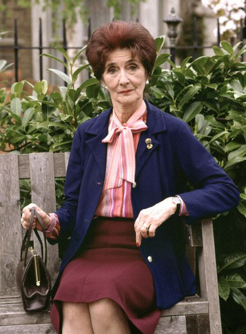 "The bulk of Dot Cotton�s wardrobe comes from charity shops. | 22 Things You Never Knew About ""EastEnders"""