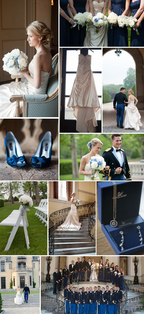 NY Real Military Wedding at Oheka Castle pt. I