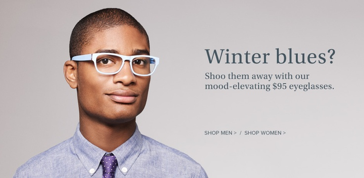 Decent frames for $95...Warby Parker similar to the TOMS concept
