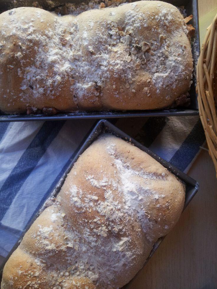 pan integral de pimentón y tomillo
