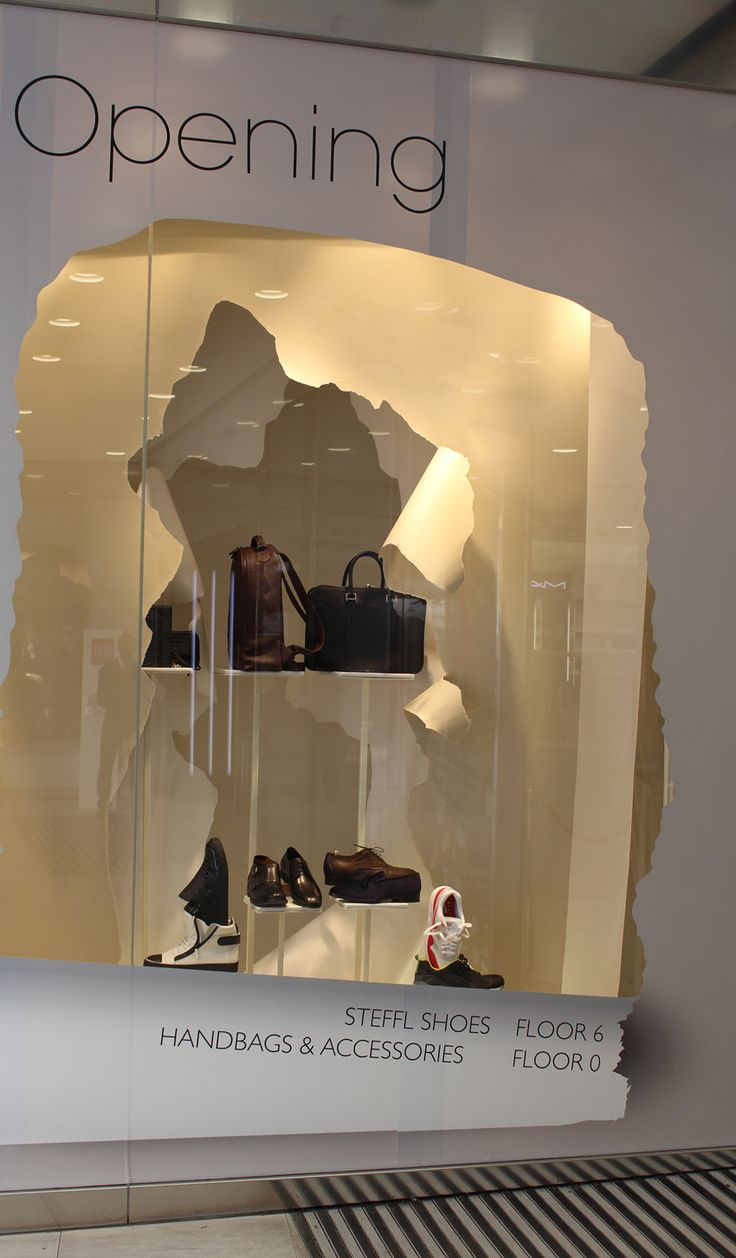 """The Department Store in Vienna presents: """"Season Opening"""", shoes ..."""