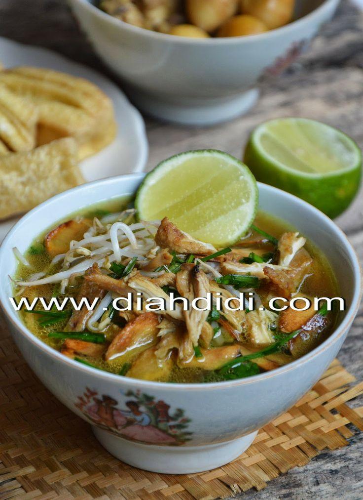 Diah Didi's Kitchen: Soto Kudus ( Resep Baru )