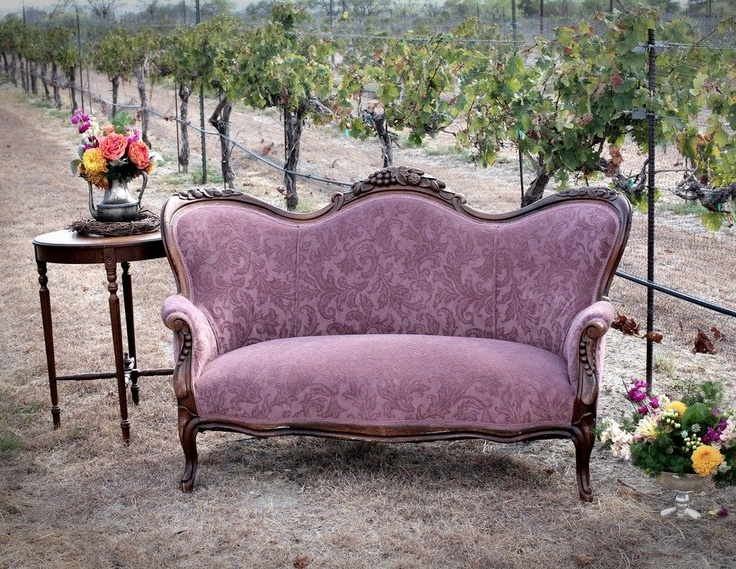 Vintage Purple Loveseat For The Home Pinterest Custom Slipcovers Heavens And Window