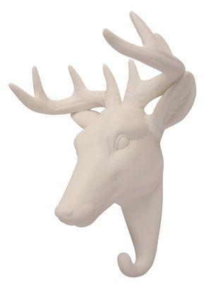 Patère Cerf / Porcelaine Cerf - Blanc - & klevering - Décoration et mobilier design avec Made in Design