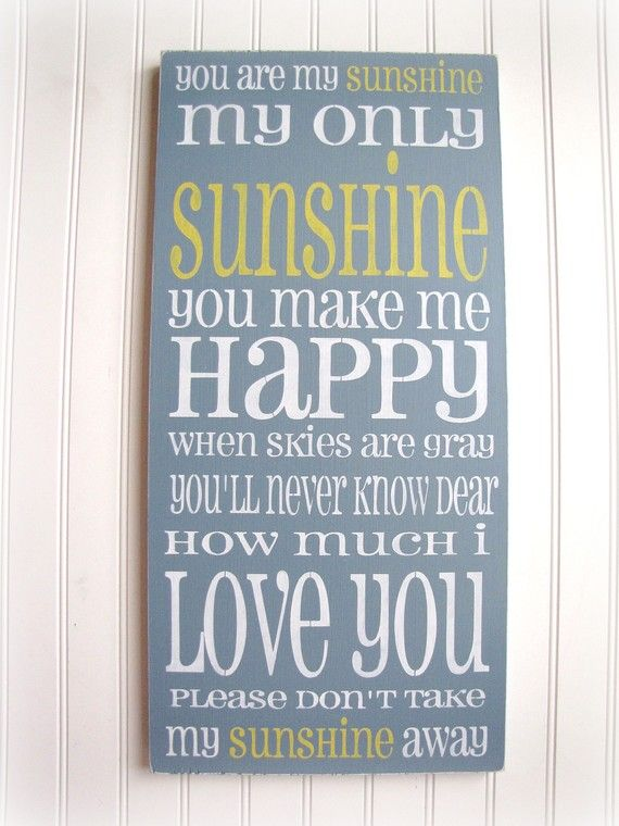 This would match Brittany's wedding colors! :): Wall Art, Kids Bedrooms, My Girls, My Boys, Songs, Sunshine, Baby Rooms, Kids Rooms,  Dust Wrappers