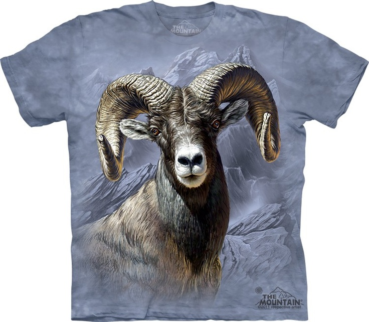 Big face horn sheep shirt by the mountain @ Epic-Shirts.com - Available at website