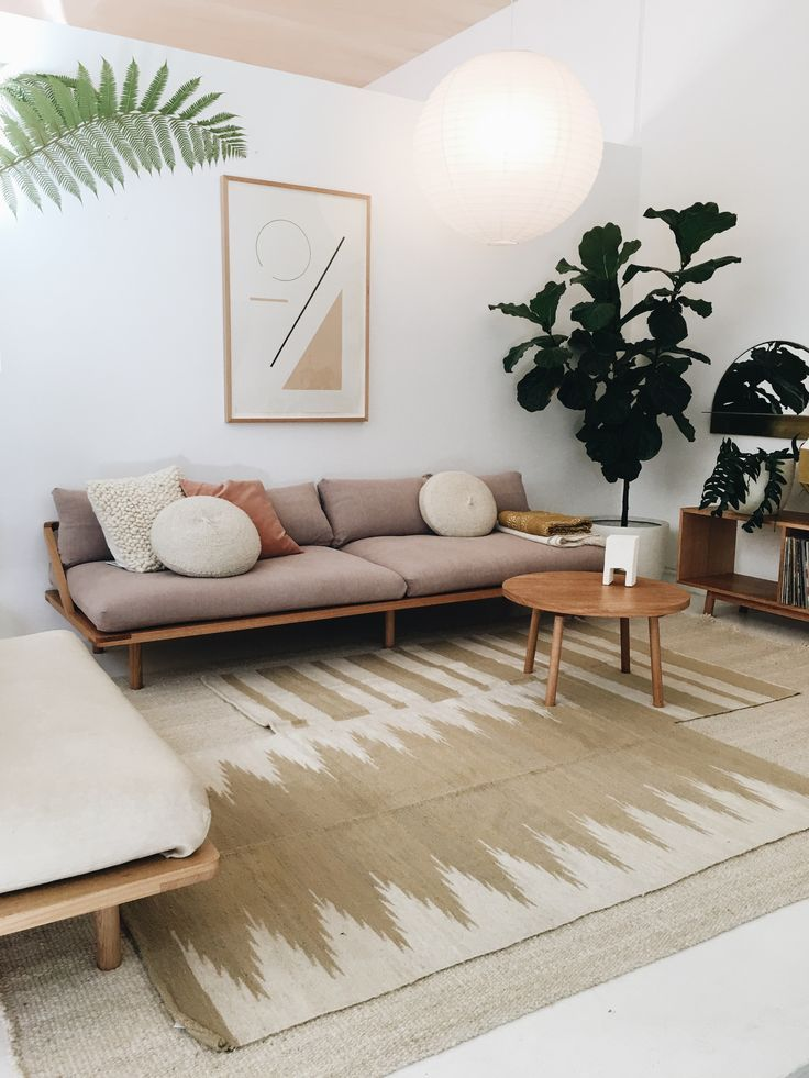 A Calm And Light Neutral Living Room Natural Home Decor Neutral